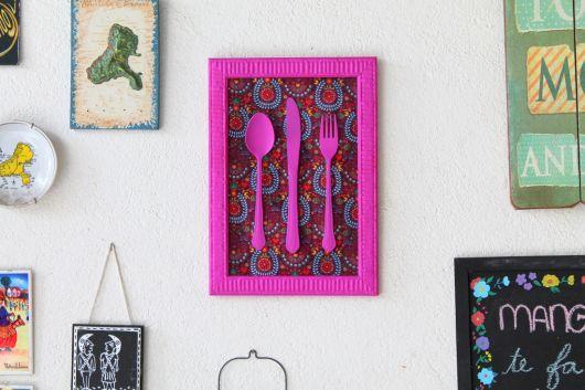 quadros-coloridos-para-cozinha-talheres