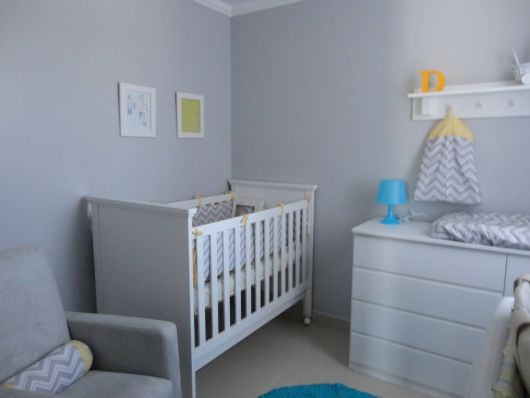 Quarto de Bebê Cinza 40 fotos de projetos inspiradores!