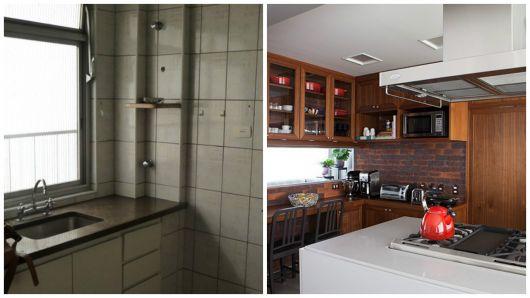 cozinha moderna reformada