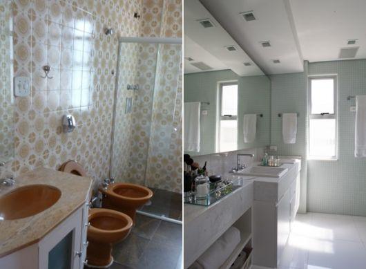 reforma banheiro antigo