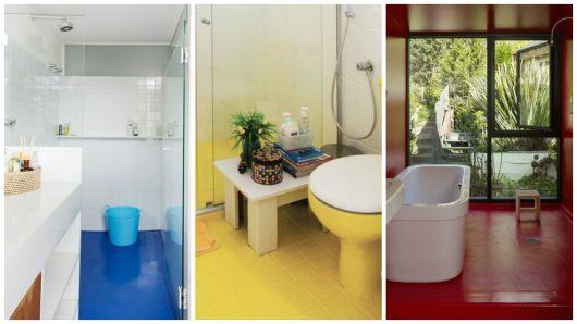 Reforma de Banheiro Ideias Criativas e 35 projetos inspiradores! -> Ideias Para Reformar Armario De Banheiro