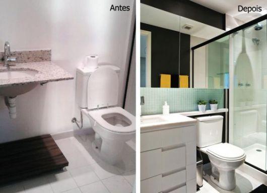 banheiro moderno apartamento