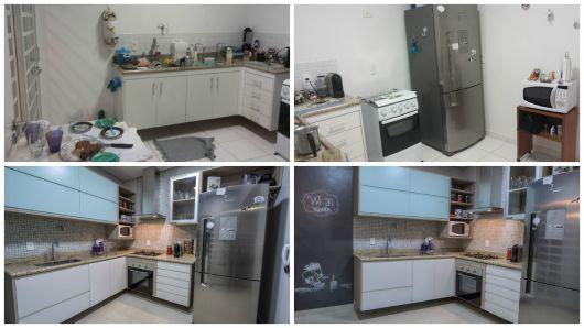 cozinha moderna com pastilhas