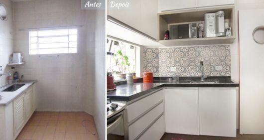 reforma cozinha antiga