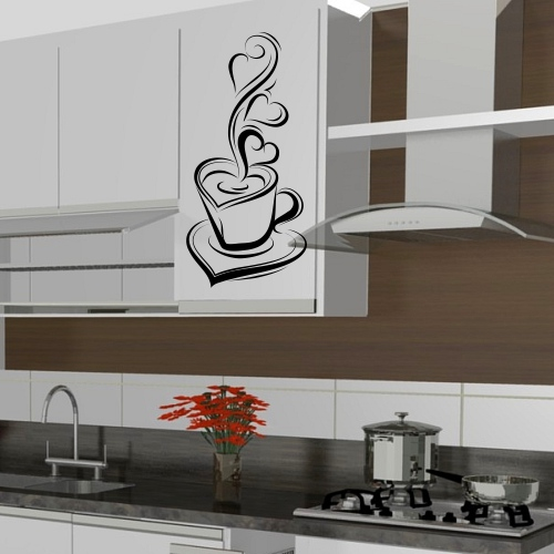 Adesivo Geladeira Personalizada ~ Adesivo para Cozinha Estilos, como decorar e + de 50