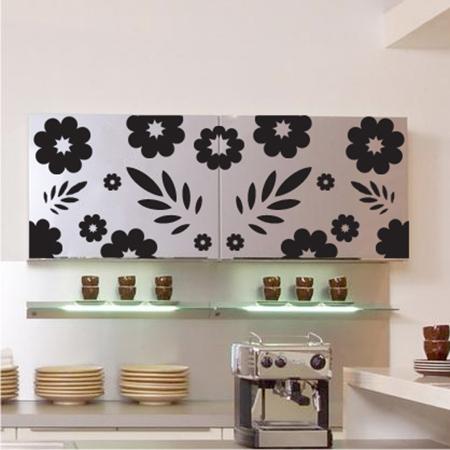 adesivo-para-cozinha-armarios-flores