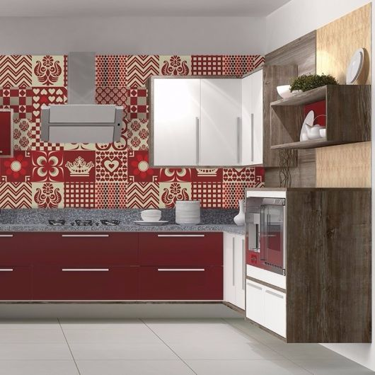 Adesivo De Azulejo Para Parede De Cozinha ~ Adesivo para Cozinha Estilos, como decorar e + de 50