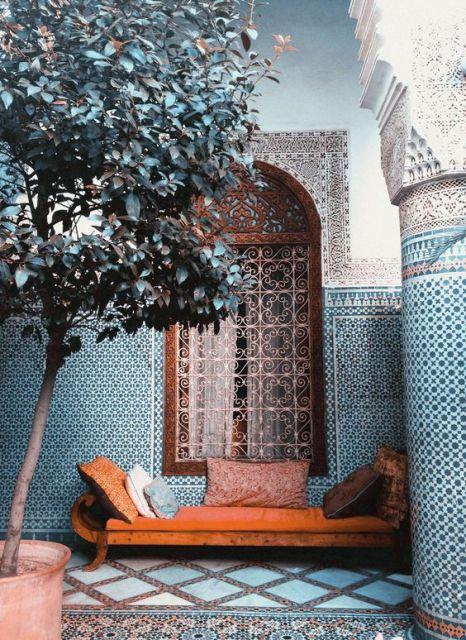decoração árabe