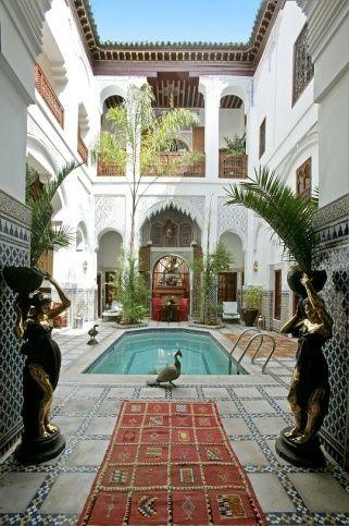 casa árabe com piscina