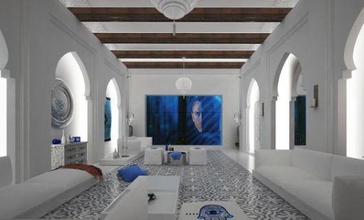 decoração moderna e clean