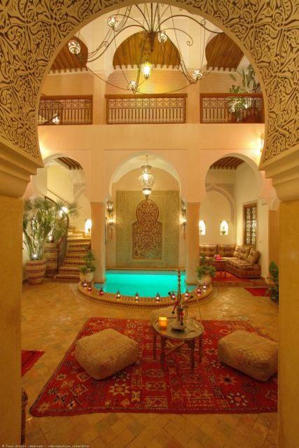 Casas rabes arquitetura decora o fotos e projetos - Casas antiguas por dentro ...