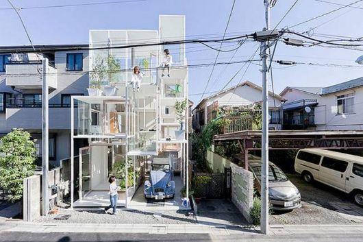 casa de vidro Japão