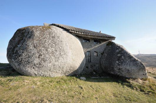 fachada casa de pedra
