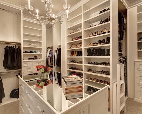 closet grande com sapateira