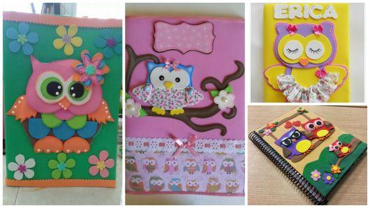capas de caderno decoradas