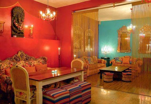 decoração paredes coloridas