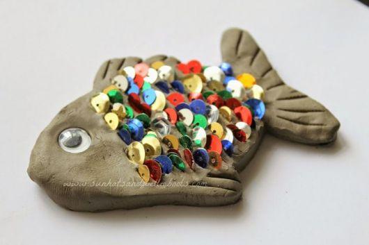 esculturas-de-argila-peixe