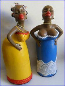esculturas de gesso baianas