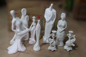 fotos de Esculturas de gesso