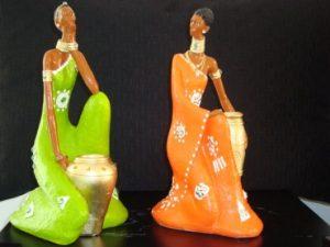 esculturas de gesso artesã