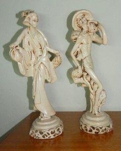 esculturas de gesso para casa