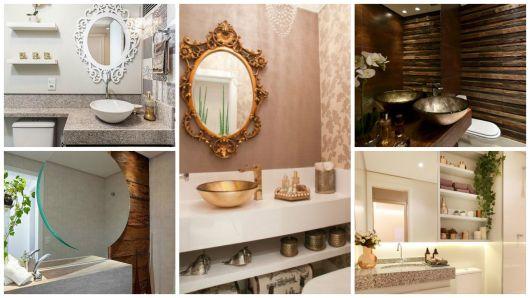Espelhos para banheiro modelos, preços e fotos inspiradoras! -> Banheiro Decorado Quanto Custa