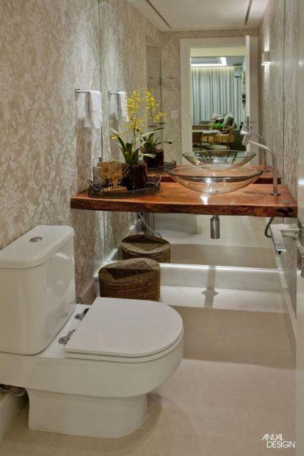Espelhos para banheiro modelos, preços e fotos inspiradora -> Banheiro Decorado Quanto Custa