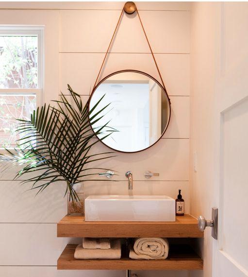 Espelhos para banheiro modelos, preços e fotos inspiradoras! -> Onde Comprar Pia De Banheiro