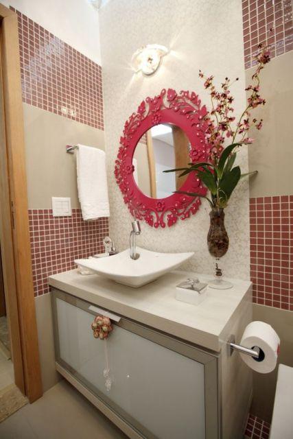 banheiro decorado pastilhas