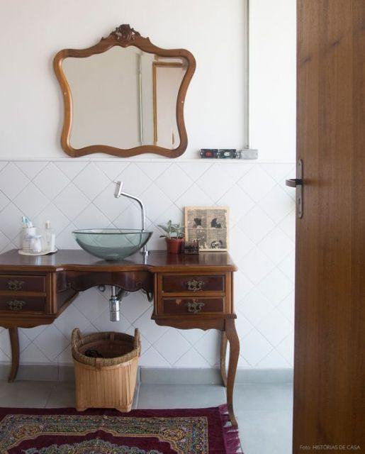 móvel para bancada de banheiro