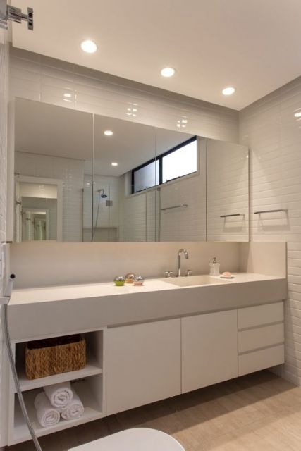 Espelhos para banheiro modelos, preços e fotos inspiradoras! -> Armario De Banheiro Sc
