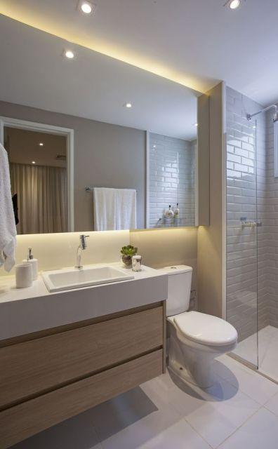 Espelhos para banheiro modelos pre os e fotos inspiradoras - Portobello decoracion ...