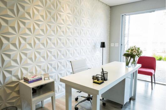 escritório decorado