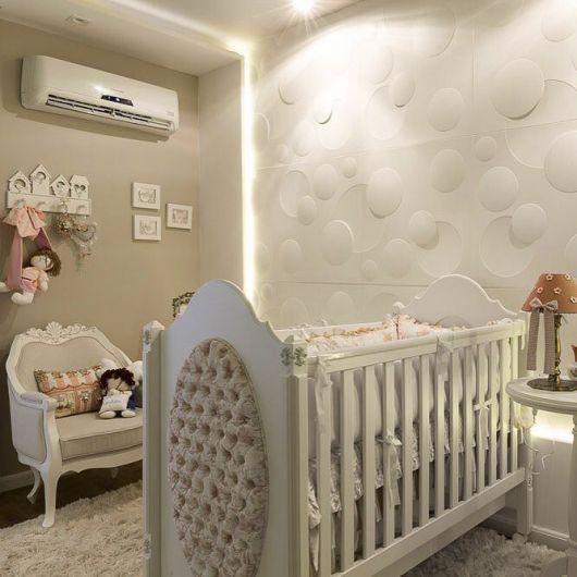 parede decorada quarto bebê