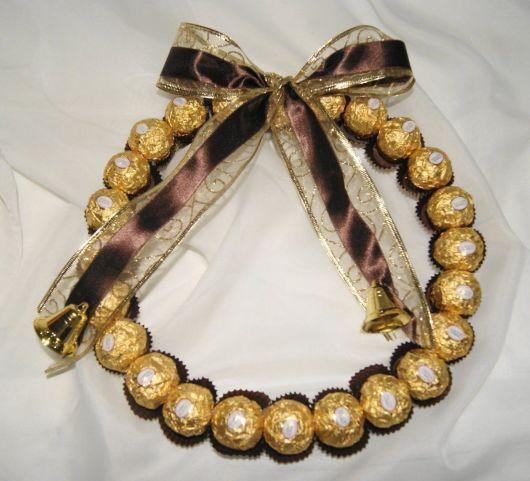 guirlanda de Ferrero Rocher