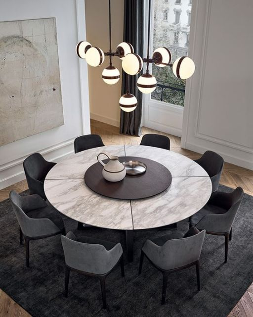 mesa redonda 8 lugares