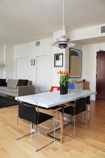 mesa moderna 4 lugares
