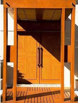 porta de madeira duas folhas
