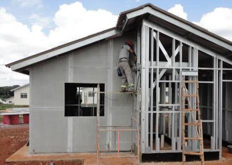 Steel frame o que pre o e fotos de projetos e casas - Casas steel framing ...