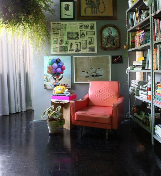 decoração vintage sala