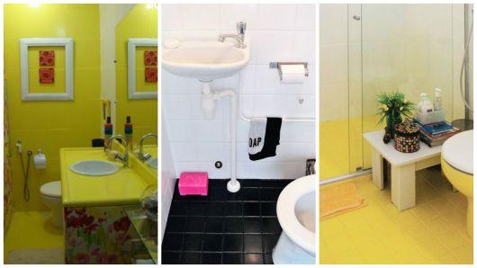 banheiros pintados