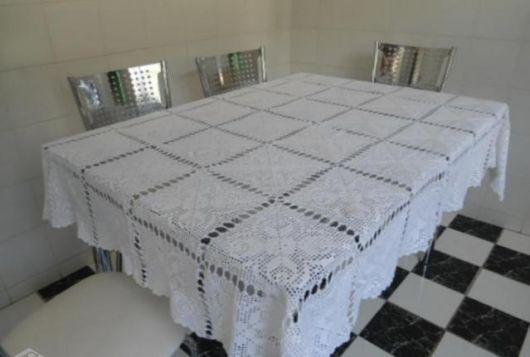toalha para mesa retangular