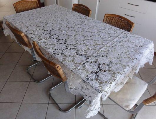 toalha para mesa 6 lugares