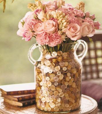 artesanato-com-botoes-vaso