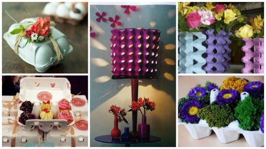 Aparador Laca Preta ~ Artesanato com caixa de ovo ideias incríveis e DIYs!