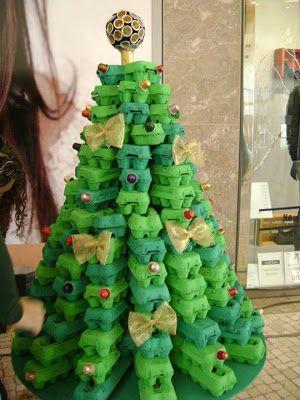 árvore de natal reaproveitamento