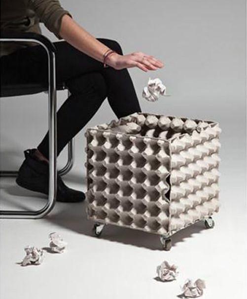 ideia para cesto de lixo