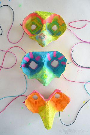 máscara reciclagem