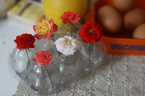 vaso de flor criativo