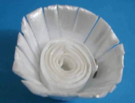 flor de caixa de ovo